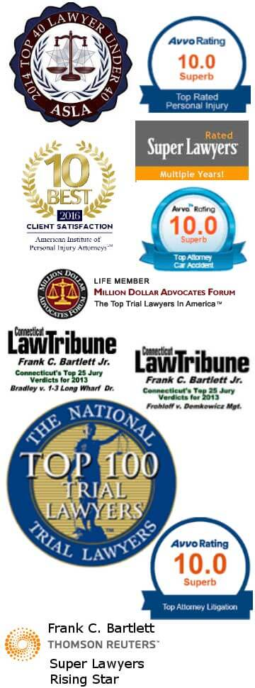 Top 100 trial lawyers in America, 10 best client satisfaction, million dollar advocates forum, top attorney litigation, top attorney car accident, top 40 lawyers under 40, top attorney personal injury, top attorney litigation
